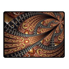 Patterns Background Dark  Fleece Blanket (small) by amphoto