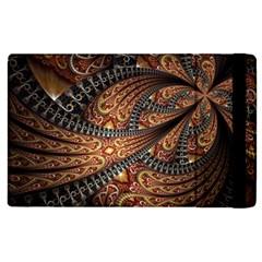 Patterns Background Dark  Apple Ipad 3/4 Flip Case by amphoto