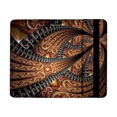 Patterns Background Dark  Samsung Galaxy Tab Pro 8 4  Flip Case by amphoto