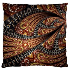 Patterns Background Dark  Standard Flano Cushion Case (two Sides) by amphoto