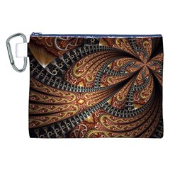 Patterns Background Dark  Canvas Cosmetic Bag (xxl) by amphoto