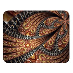 Patterns Background Dark  Double Sided Flano Blanket (large)  by amphoto