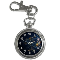 Spots Dark Lines Glimpses 3840x2400 Key Chain Watches by amphoto