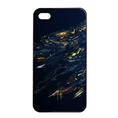 Spots Dark Lines Glimpses 3840x2400 Apple Iphone 4/4s Seamless Case (black) by amphoto