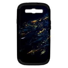 Spots Dark Lines Glimpses 3840x2400 Samsung Galaxy S Iii Hardshell Case (pc+silicone) by amphoto
