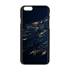 Spots Dark Lines Glimpses 3840x2400 Apple Iphone 6/6s Black Enamel Case by amphoto
