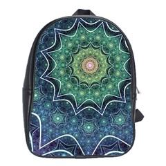 Background Line Light  School Bag (xl) by amphoto