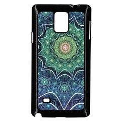 Background Line Light  Samsung Galaxy Note 4 Case (black)