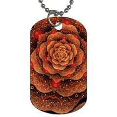 Flower Patterns Petals  Dog Tag (two Sides) by amphoto