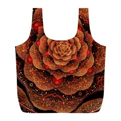 Flower Patterns Petals  Full Print Recycle Bags (l)  by amphoto