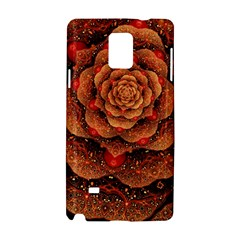 Flower Patterns Petals  Samsung Galaxy Note 4 Hardshell Case by amphoto