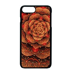 Flower Patterns Petals  Apple Iphone 7 Plus Seamless Case (black) by amphoto
