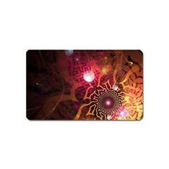 Explosion Background Bright  Magnet (name Card) by amphoto