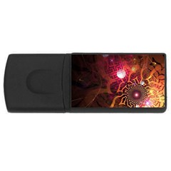 Explosion Background Bright  Rectangular Usb Flash Drive by amphoto