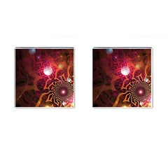 Explosion Background Bright  Cufflinks (square) by amphoto