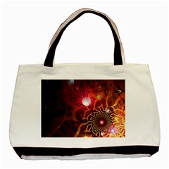 Explosion Background Bright  Basic Tote Bag by amphoto