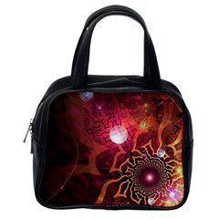 Explosion Background Bright  Classic Handbags (one Side) by amphoto