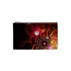 Explosion Background Bright  Cosmetic Bag (small)  by amphoto