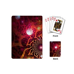 Explosion Background Bright  Playing Cards (mini)  by amphoto
