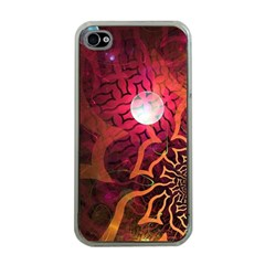 Explosion Background Bright  Apple Iphone 4 Case (clear) by amphoto