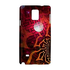 Explosion Background Bright  Samsung Galaxy Note 4 Hardshell Case by amphoto