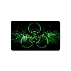 Radiation Sign Spot  Magnet (name Card) by amphoto