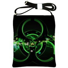 Radiation Sign Spot  Shoulder Sling Bags by amphoto