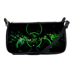 Radiation Sign Spot  Shoulder Clutch Bags by amphoto
