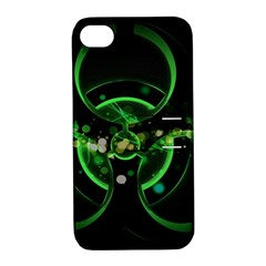 Radiation Sign Spot  Apple Iphone 4/4s Hardshell Case With Stand by amphoto
