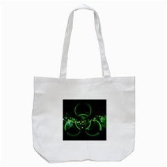 Radiation Sign Spot  Tote Bag (white) by amphoto