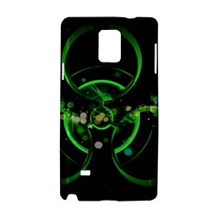 Radiation Sign Spot  Samsung Galaxy Note 4 Hardshell Case by amphoto