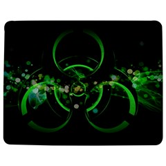Radiation Sign Spot  Jigsaw Puzzle Photo Stand (rectangular) by amphoto