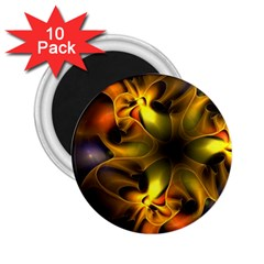 Art Fractal  2 25  Magnets (10 Pack)  by amphoto