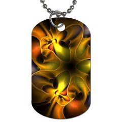 Art Fractal  Dog Tag (one Side) by amphoto