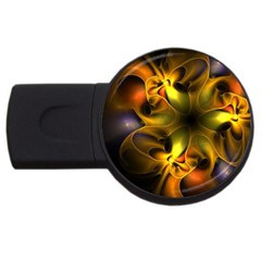 Art Fractal  Usb Flash Drive Round (4 Gb) by amphoto