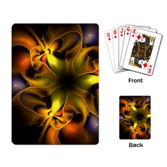 Art Fractal  Playing Card by amphoto