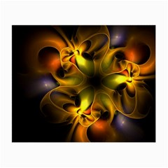 Art Fractal  Small Glasses Cloth (2 Side) by amphoto