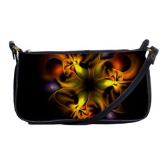 Art Fractal  Shoulder Clutch Bags by amphoto