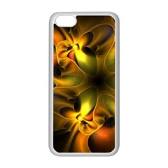 Art Fractal  Apple Iphone 5c Seamless Case (white) by amphoto
