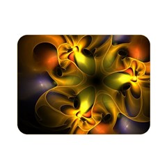 Art Fractal  Double Sided Flano Blanket (mini)  by amphoto