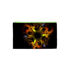 Art Fractal  Cosmetic Bag (xs) by amphoto