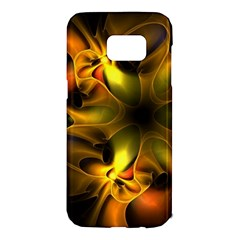 Art Fractal  Samsung Galaxy S7 Edge Hardshell Case by amphoto