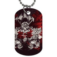 Patterns Bright Background  Dog Tag (one Side) by amphoto