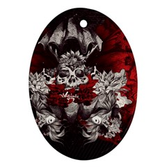 Patterns Bright Background  Oval Ornament (two Sides) by amphoto