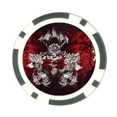 Patterns Bright Background  Poker Chip Card Guard by amphoto