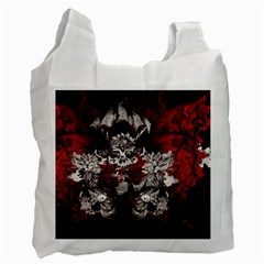 Patterns Bright Background  Recycle Bag (two Side)  by amphoto