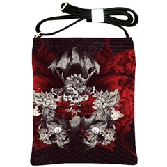Patterns Bright Background  Shoulder Sling Bags by amphoto