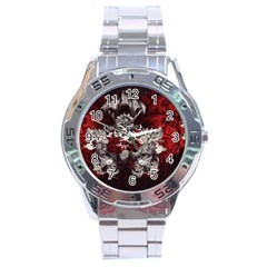 Patterns Bright Background  Stainless Steel Analogue Watch by amphoto