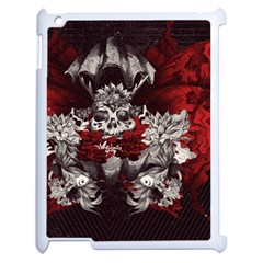Patterns Bright Background  Apple Ipad 2 Case (white) by amphoto