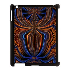 Patterns Light Dark Apple Ipad 3/4 Case (black) by amphoto